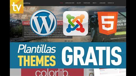 Plantillas gratis para wordpress, joomla y HTML   YouTube