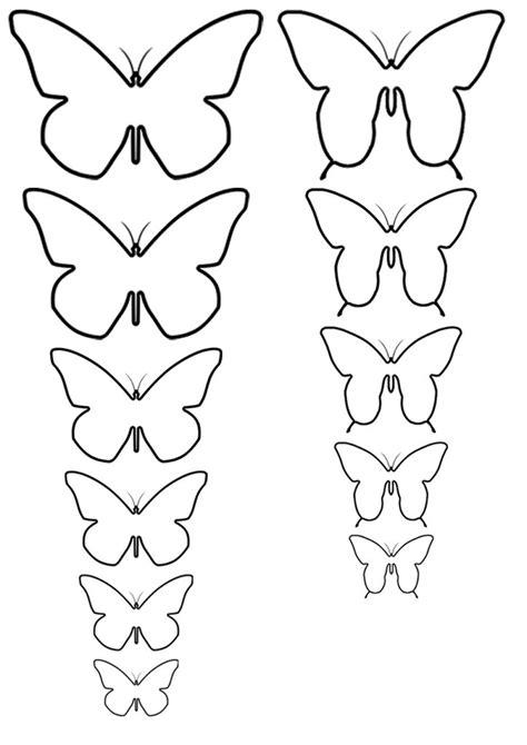 Plantillas mariposas para imprimir   Imagui