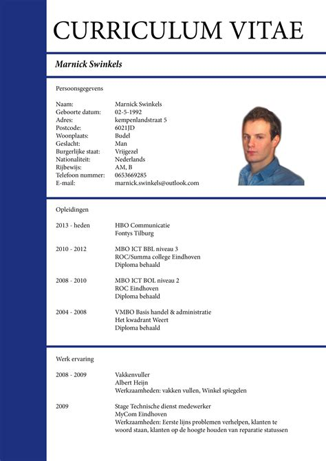 Plantillas o formatos para diseño de curriculum vitae ...