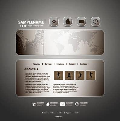 Plantillas para paginas web en vector y gratis   Illustrator