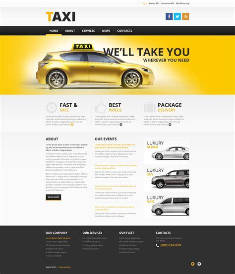Plantillas WordPress para Sitios de Taxi