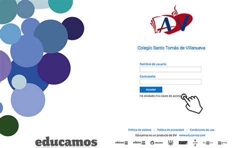 PLATAFORMA EDUCAMOS – Colegio Santo Tomás de Villanueva ...