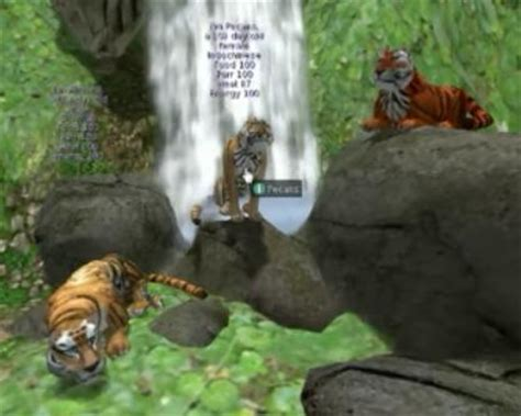 Play free WTTJ Tigers Second Life Online games.
