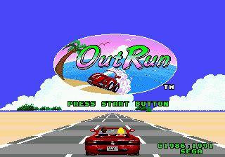 Play OutRun Sega Genesis online | Play retro games online ...