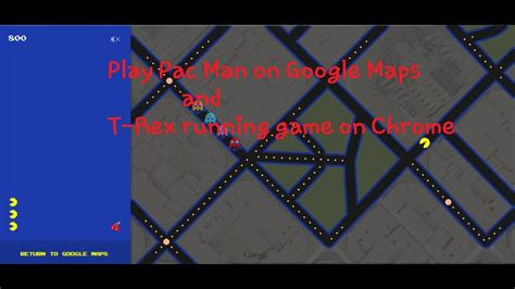 Play T Rex running game on Chrome offline  and Pac Man on ...