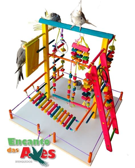 Playground Gigante Para Calopsita Encanto Das Aves ...