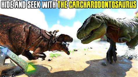 PLAYING HIDE AND SEEK WITH A CARCHARODONTOSAURUS ...