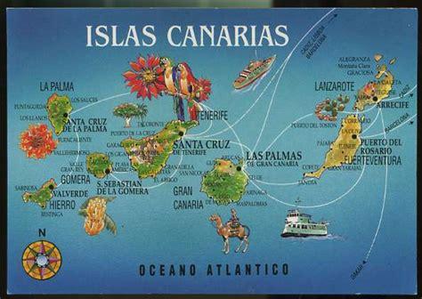 Playle s: Map: Islas Canarias,Oceano Atlantico   Store ...