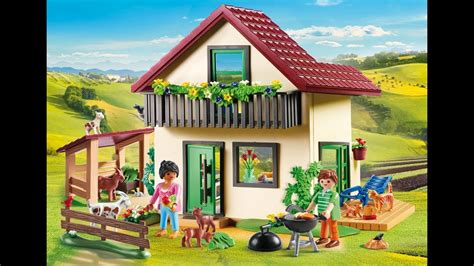 Playmobil 2020 ferme maison playmobil country   YouTube