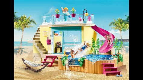 Playmobil 2021 hôtel vacances playmobil   YouTube