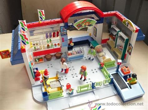 Playmobil 3200 supermercado ciudad con extras f   Vendido ...