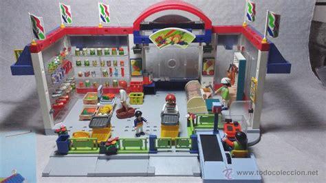 Playmobil 3200 supermercado ciudad system x fam   Vendido ...