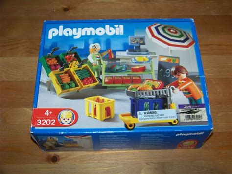 Playmobil 3202 Deli and Produce Super market Checkout ...