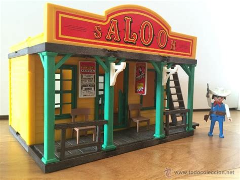 Playmobil 3461 saloon 2º version oeste western   Vendido ...