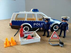 Playmobil 4260 European Patrol Car, Used, Discontinued ...