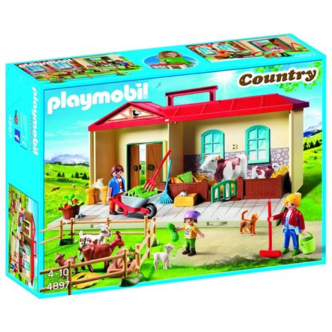 Playmobil 4897   Ferme transportable   Cultura