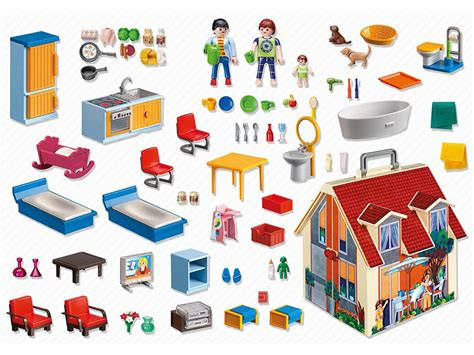 PLAYMOBIL 5167 Dollhouse Take Along Modern Doll House