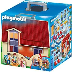 Playmobil 5167 Take Along Modern Dolls House: Amazon.co.uk ...
