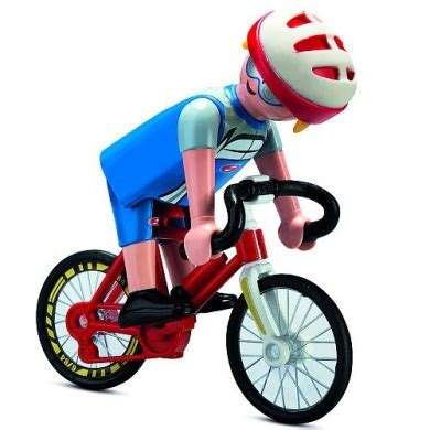 Playmobil 5193 Cyclist by Playmobil   Shop Online for Toys ...