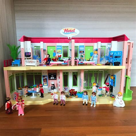 Playmobil 5265 Summer Fun Grand Hotel, Toys & Games ...