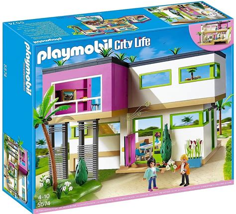 Playmobil 5574, casa moderna con accesorios   Brico Reyes