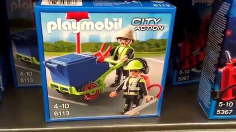 Playmobil 6113   Stadtreinigungs Team   6113   PLAYMOBIL ...
