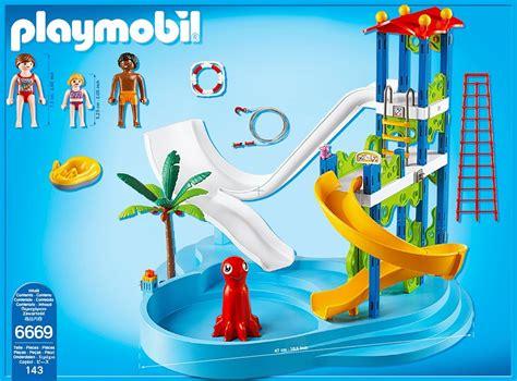 Playmobil 6669, parque acuático con tobogán y más   Brico ...