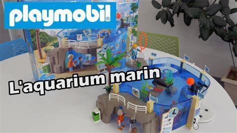 Playmobil  9060  L aquarium marin   Démo et construction ...