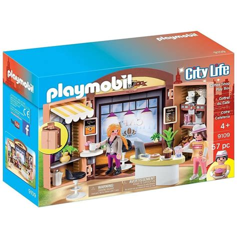 Playmobil 9109 Coffee Shop Play Box | Playscapes