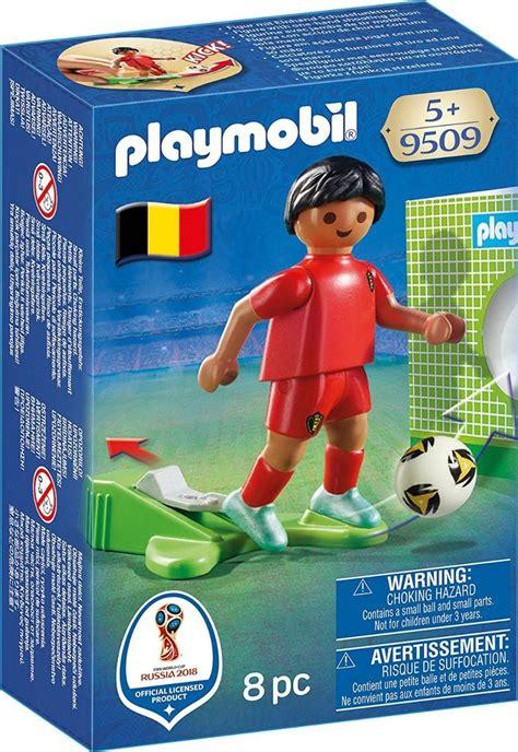 Playmobil 9298 Cancha Fútbol 2018 Y 4 Jugadores De Regalo ...