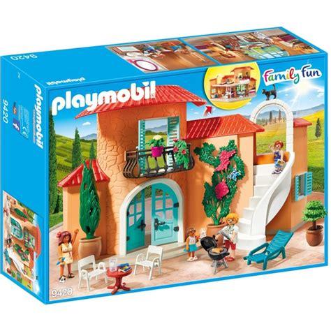 Playmobil 9420 Family Fun Summer Villa with Balcony ...