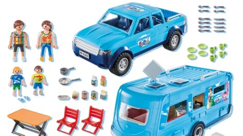 Playmobil 9502 FunPark Pickup with Camper   Prices