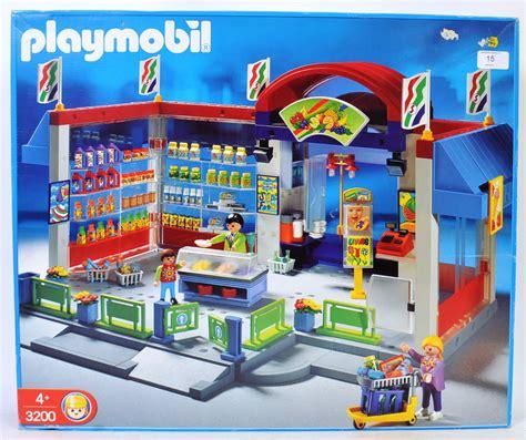 PLAYMOBIL; An original Playmobile 3200 Supermarket playset ...