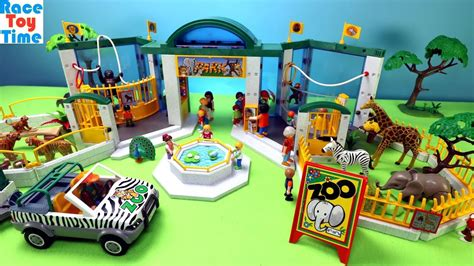 Playmobil Animals Zoo Build and Play Fun Animal Toys For ...