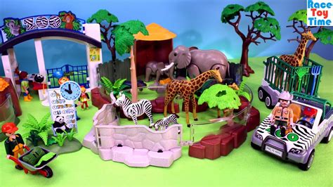 Playmobil Animals Zoo Playset Build and Play   Fun Toys ...