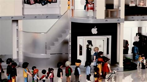 Playmobil Apple Store Play Set from ThinkGeek   YouTube