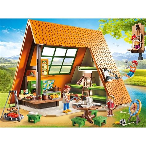 Playmobil Camping Lodge 6887   £45.00   Hamleys for Toys ...