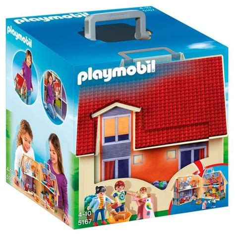 Playmobil   Casa de Muñecas Maletín   5167 | Casa Muñecas ...