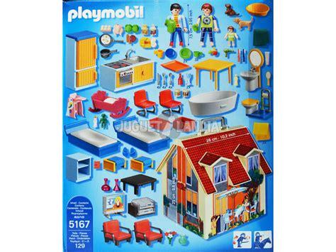 Playmobil Casa de muñecas maletín de Juguete 5167 ...