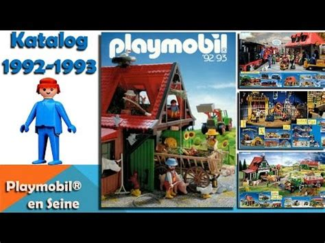 Playmobil   Catalogue 1992 1993   YouTube