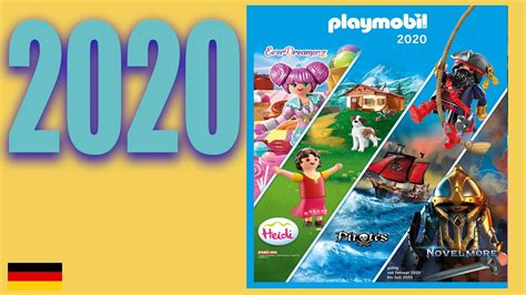 PLAYMOBIL   CATALOGUE 2020 2021   ALLEMAGNE   YouTube