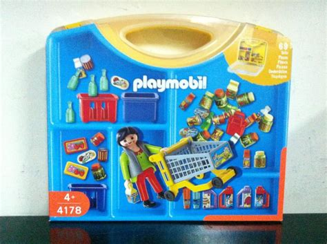 Playmobil City 4178 CARRYING CASE with WOMAN and ...