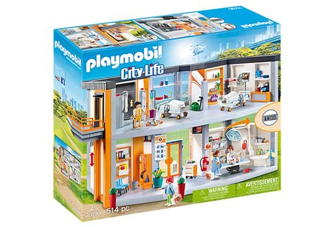 Playmobil City Life   Large hospital with facilities