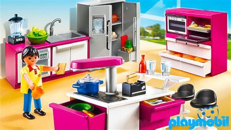 PLAYMOBIL City Life Modern Designer Kitchen TOY Review ...