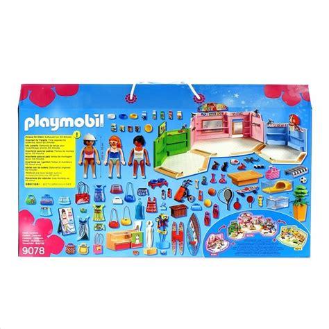 Playmobil City Life Paseo Comercial con 3 Tiendas ...