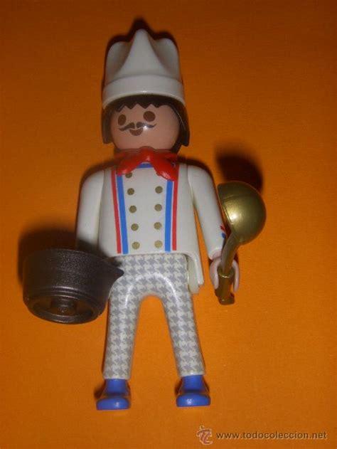 Playmobil   cocinero   Vendido en Venta Directa   24952245
