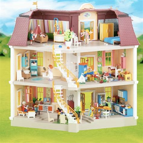 Playmobil Doll House   Large Grand Mansion     Fat Brain Toys
