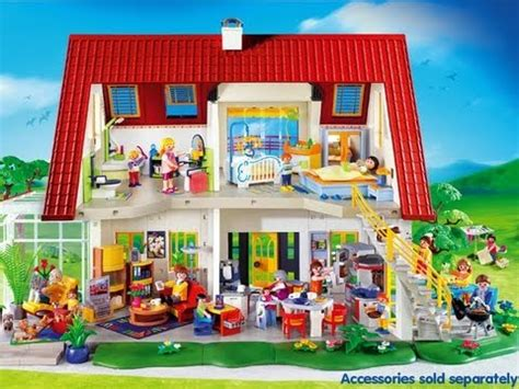 PlayMobil DollHouse!   YouTube