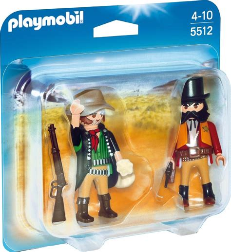 Playmobil Duo Pack 5512 Western Sheriff Y Bandido ...