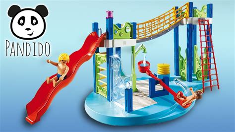 Playmobil en español Juegos de agua en Parque acuático ...